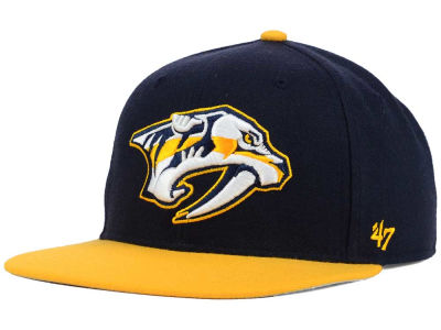 Nashville Predators '47 NHL Sure Shot 2 Tone Snapback Cap
