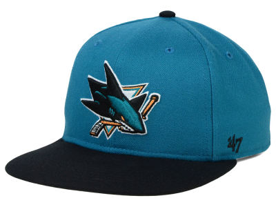 San Jose Sharks '47 NHL Sure Shot 2 Tone Snapback Cap