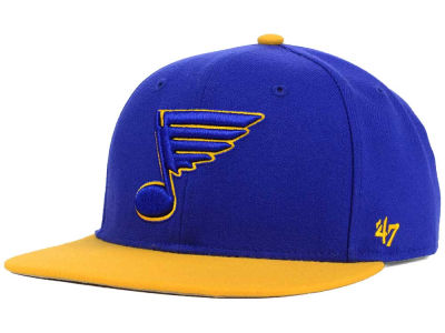 St. Louis Blues '47 NHL Sure Shot 2 Tone Snapback Cap