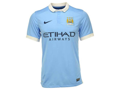 Manchester City Nike Club Soccer Team Men's Home Stadium Jersey