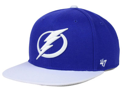 Tampa Bay Lightning '47 NHL Sure Shot 2 Tone Snapback Cap