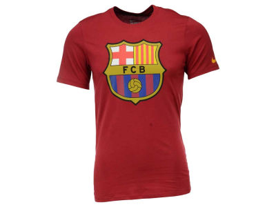 FC Barcelona Nike Club Soccer Men's Core Crest T-Shirt