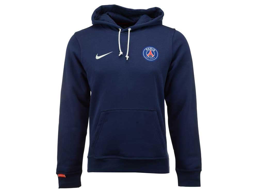 Paris Saint-Germain Nike Club Soccer Men s Core Hoodie  b76549d55