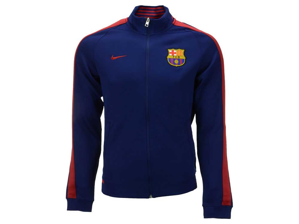 FC Barcelona Nike Club Soccer Men s N98 Track Jacket  f17382003