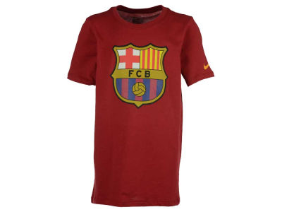 FC Barcelona Nike Youth Club Team Core Crest T-Shirt 2015