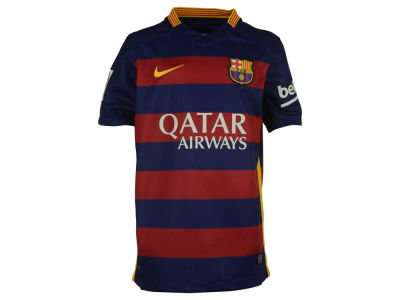 FC Barcelona Nike Club Soccer Youth Home Stadium Jersey
