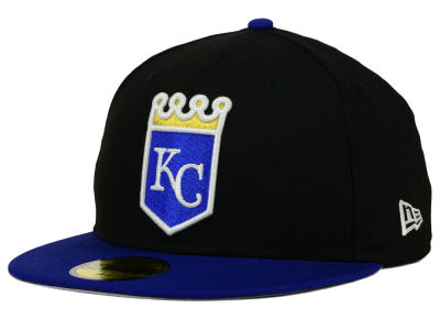 Kansas City Royals New Era MLB Cooperstown 2 Tone 59FIFTY Cap
