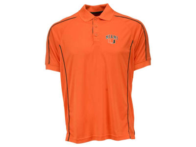 Miami Hurricanes NCAA Men's Pitch Polo Shirt