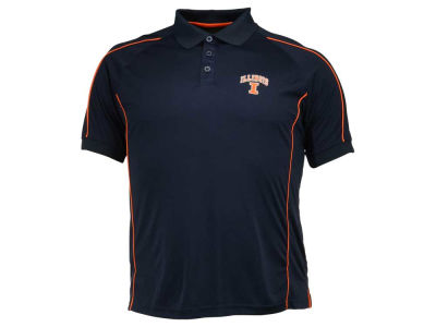 Illinois Fighting Illini NCAA Men's Pitch Polo Shirt