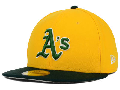 Oakland Athletics New Era MLB Cooperstown 2 Tone 59FIFTY Cap