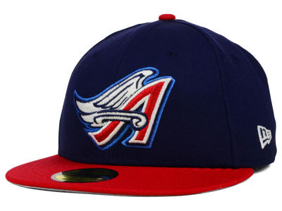 Los Angeles Angels New Era MLB Cooperstown 2 Tone 59FIFTY Cap