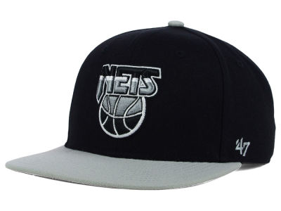 New Jersey Nets '47 NBA HWC Sure Shot 2 Tone '47 Snapback Cap