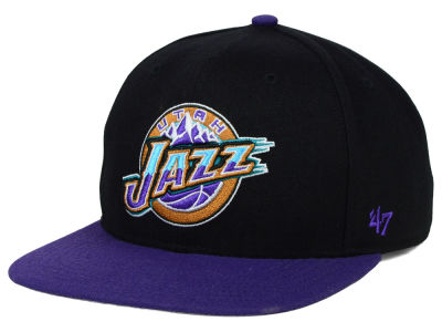 Utah Jazz '47 NBA HWC Sure Shot 2 Tone '47 Snapback Cap