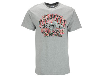 Ohio State Buckeyes NCAA Men's National Champion Helmet T-Shirt