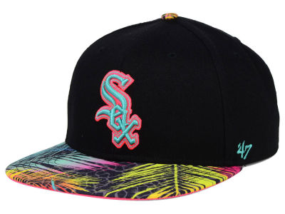 Chicago White Sox '47 MLB Black Flagler '47 Snapback Cap