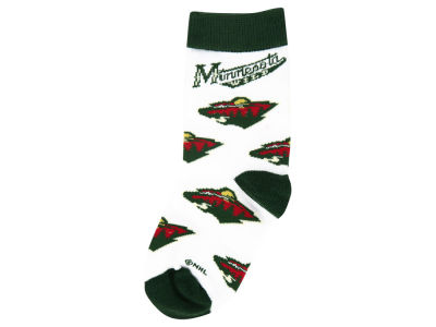 Minnesota Wild All Over Toddler Socks