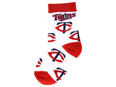 Minnesota Twins All Over Toddler Socks