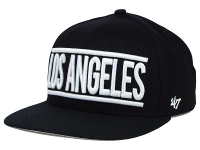Los Angeles Dodgers '47 MLB On The Track '47 Snapback Cap