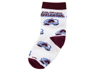 Colorado Avalanche All Over Toddler Socks