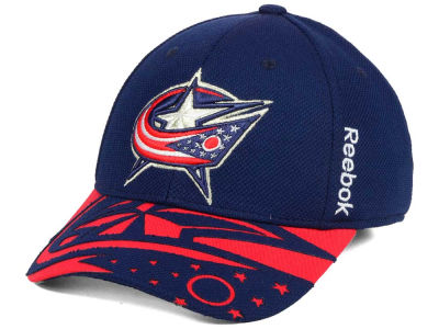 Columbus Blue Jackets Reebok NHL 2015 Draft Flex Cap