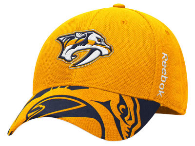 Nashville Predators Reebok NHL 2015 Draft Flex Cap