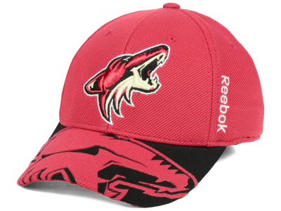 Arizona Coyotes Reebok NHL 2015 Draft Flex Cap
