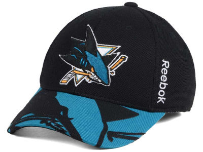 San Jose Sharks Reebok NHL 2015 Draft Flex Cap