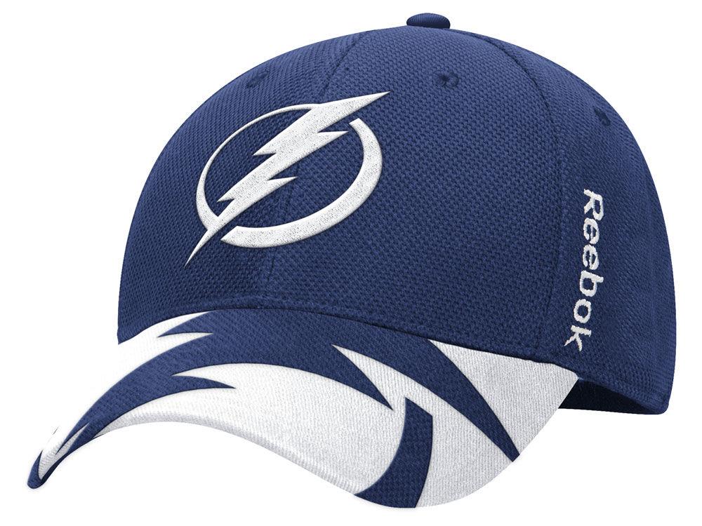Tampa Bay Lightning Reebok NHL 2015 Draft Flex Cap  0b91aa5bfcc