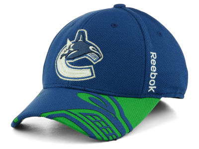Vancouver Canucks Reebok NHL 2015 Draft Flex Cap