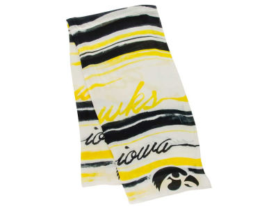 Iowa Hawkeyes School Wave Scarf