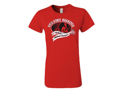 Ohio State Buckeyes NCAA 2014-2015 Womens NCG Brutus Champ T-Shirt