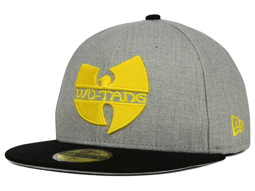 Wu-Tang Clan WU Heather 59FIFTY Cap  eaf7ba323fb