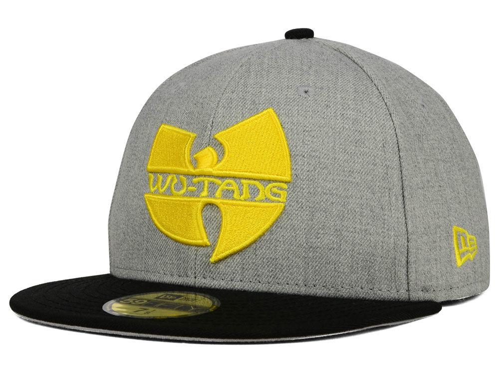 Wu-Tang Clan WU Heather 59FIFTY Cap  8b3dba01540