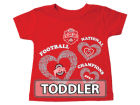 Ohio State Buckeyes NCAA 2014-2015 Toddler Girls National Champions T-Shirt Infant Apparel