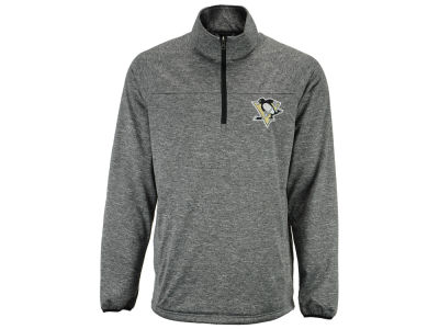 Pittsburgh Penguins NHL Men's Franchise 1/4 Zip Pullover Shirt