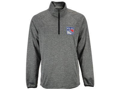 New York Rangers GIII NHL Men's Franchise 1/4 Zip Pullover Shirt