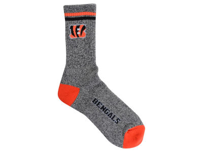 Cincinnati Bengals Heathered Crew Socks