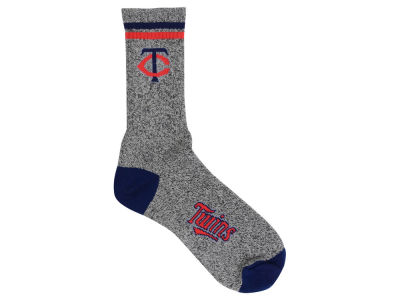 Minnesota Twins For Bare Feet Heathered Crew Socks