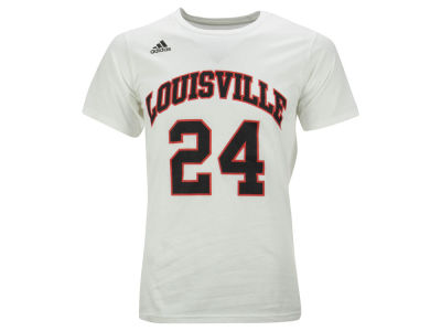 Louisville Cardinals #24 adidas NCAA Men's Retro Basketball Number T-Shirt