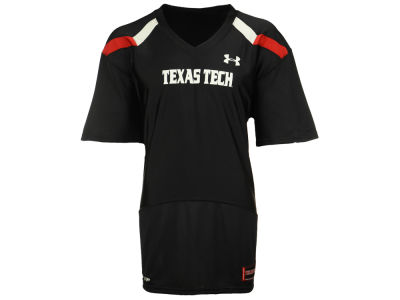 Texas Tech Red Raiders Under Armour NCAA Blank Replica Football Jersey