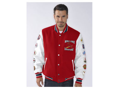 St. Louis Cardinals MLB Men's Game Ball Commemorative Jacket