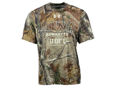 Iowa Hawkeyes NCAA Men's Camo Catalyst T-Shirt