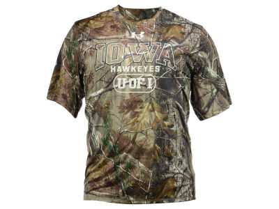 Iowa Hawkeyes NCAA Men's Camo Catalyst 3XL T-Shirt