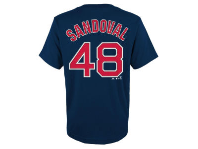 Boston Red Sox Pablo Sandoval MLB Youth Official Player T-Shirt