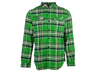 Notre Dame Fighting Irish Columbia NCAA Men's Flare Gun Long Sleeve Flannel Button Up Shirt