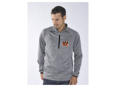 Cincinnati Bengals NFL Men's Franchise 1/4 Zip Pullover Shirt