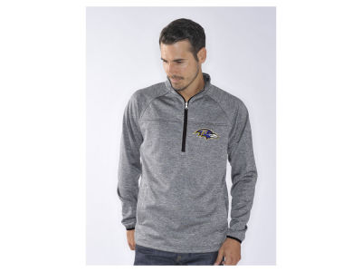 Baltimore Ravens NFL Men's Franchise 1/4 Zip Pullover Shirt