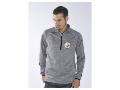 Pittsburgh Steelers NFL Men's Franchise 1/4 Zip Pullover Shirt