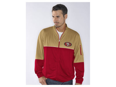 San Francisco 49ers NFL Men's Flip Shot Track Jacket