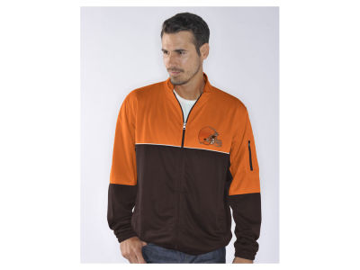 Cleveland Browns NFL Men's Flip Shot Track Jacket